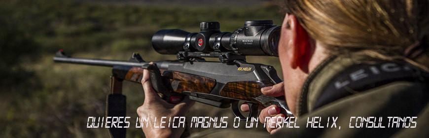 Merkel Helix y Leica